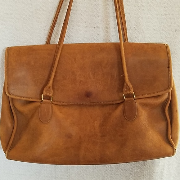 Vintage Coach Soft Side Briefcase Laptop Bag